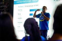 Apresentação do Planejamento Estratégico da equipe  de  Gestor de Canais, durante Foco Week 2020