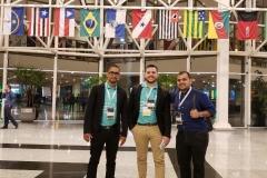 Leonardo, diretor comercial,  com a Equipe do App Sistemas na Abav Braztoa 2019