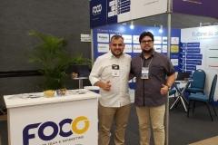 Stand da Foco no Encatho Exprotel 2019