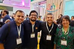 Leonardo e Diego, no WTM Latin America 2019